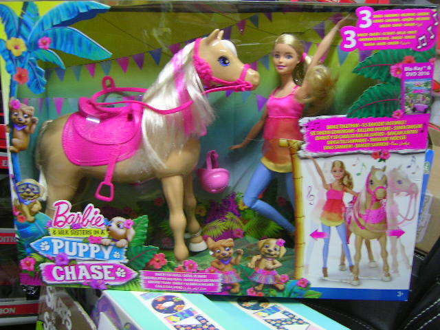 BARBIE PUPPY CHASE  BARBIE BALLA CON CAVALLO TAWNY