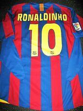 Authentic Ronaldinho Barcelona Jersey 2005 2006 Shirt Camiseta Brazil Milan M