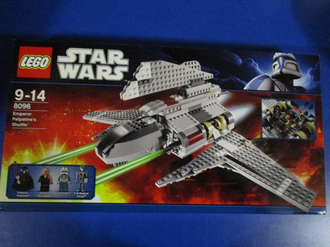 Lego Star Wars 8096  Emperor Palpatine's Shuttle nouveau OP  obtenir la dernière