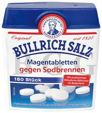 BULLRICH SALZ - Against Heartburn - 180 pcs - German Product