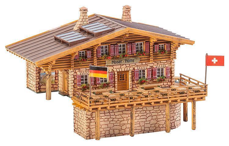 Faller N 232356 Hochgebirgshütte Moser-Hütte Neuware  | Elegant Und Würdevoll