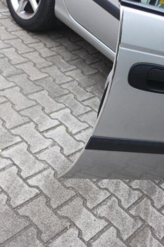 Chrom Türkantenschutz Kanten Schutz mit 3M Kleber Fiat 500 2Stück 100Cm