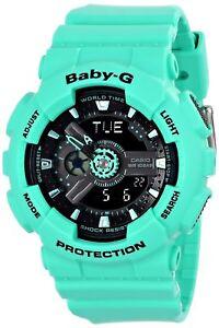 Casio-Women-039-s-BA-111-3ACR-Baby-G-Analog-Digital-Watch-BA-111-3