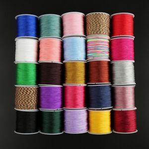 1Roll-45m-Nylon-Cord-Thread-Chinese-Knot-Macrame-Rattail-Bracelet-Braided-String