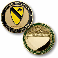 U.s. Army / 1st Cavalry Division, Fort Hood - Challenge Coin