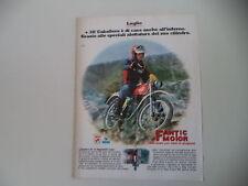 advertising Pubblicità 1976 MOTO FANTIC CABALLERO 50 REGOLARITA' CASA
