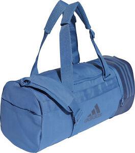 Adidas Convertible 3 Stripe Holdall-Bleu  </span>