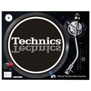 Slipmat Technics Mirror 1 White On Black Background 1 Piece 60647 1 Ebay