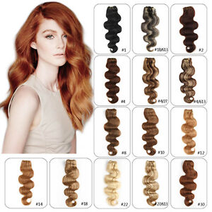 Full-Head-Remy-Clip-in-100-Real-Human-Hair-Extensions-Body-Wave-Hair-14-24inch