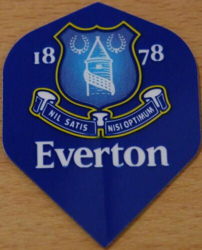 Everton Dart Football Team Flights Standard Shape Set of 3 Flights