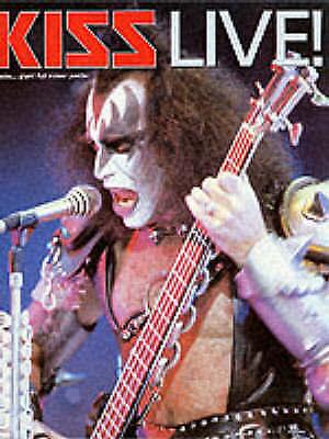"(Good)-""Kiss"" Live! (Paperback)-Mick St.Michael-0711960089"