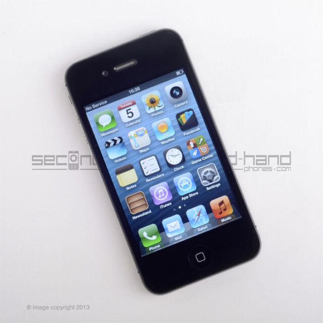 Apple iPhone 4S 16GB Black (EE Network) 12M Warranty Grade A Excellent Condition