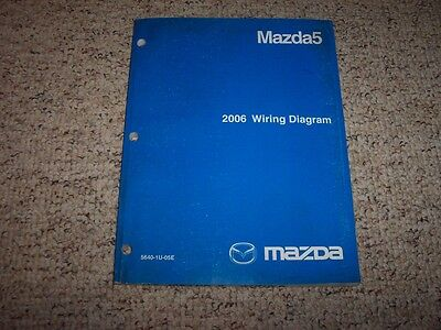 2006 Mazda5 Mazda 5 Factory Original Electrical Wiring Diagram Manual Book    eBayeBay