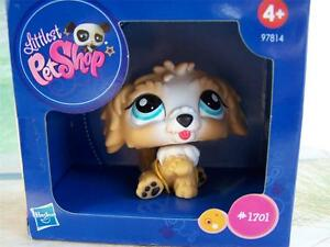 Littlest Pet Shop Europe Special Edition LABRADOODLE lot #1701 Rare Retired NIB!