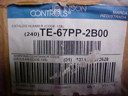 JOHNSON CONTROL TE67PP2B00 TEMPERATURE SENSOR ZC56
