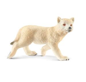Schleich-14804-Arctic-Wolf-Pup-Wild-Animal-Model-Toy-Figurine-2018-NIP