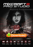 Mixcraft 8 Pro Studio - Audio Music Software - Windows - Digital - Acoustica
