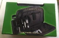 In Box - Claybrooke Travel Friendly Valet Kit With Manicure Kit