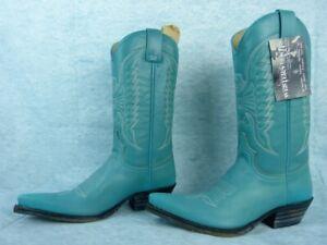 4 Leather Usa Sendra Pointure 36 Fr Uk Bottes 6 fFnXqnw6
