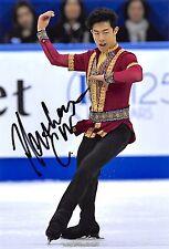 Nathan CHEN  - USA - Eiskunstlauf - Foto sig. (1)