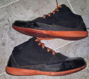 00e24c3d4c2 Under Armour Black Ice Mid Men s Basketball Shoes Size 12 Brandon ...