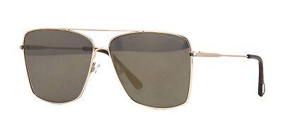 Authentic Tom Ford FT 0651 Magnus 02 30C Gold//Havana Sunglasses