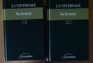 Enciclopedia-l-039-Universale-Le-Garzantine-il-Giornale-2003-Scienze-2-volumi