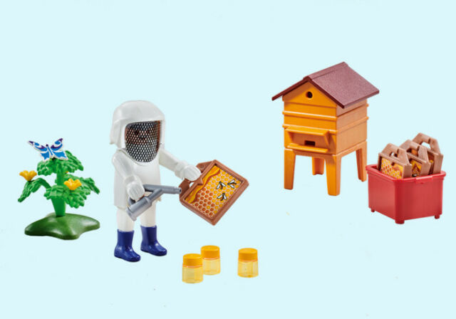 Playmobil BEE KEEPER with Hive 6573
