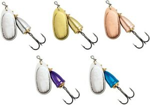 Trout /& Salmon Lure Blue Fox Classic Vibrax Painted Series Inline Spinner