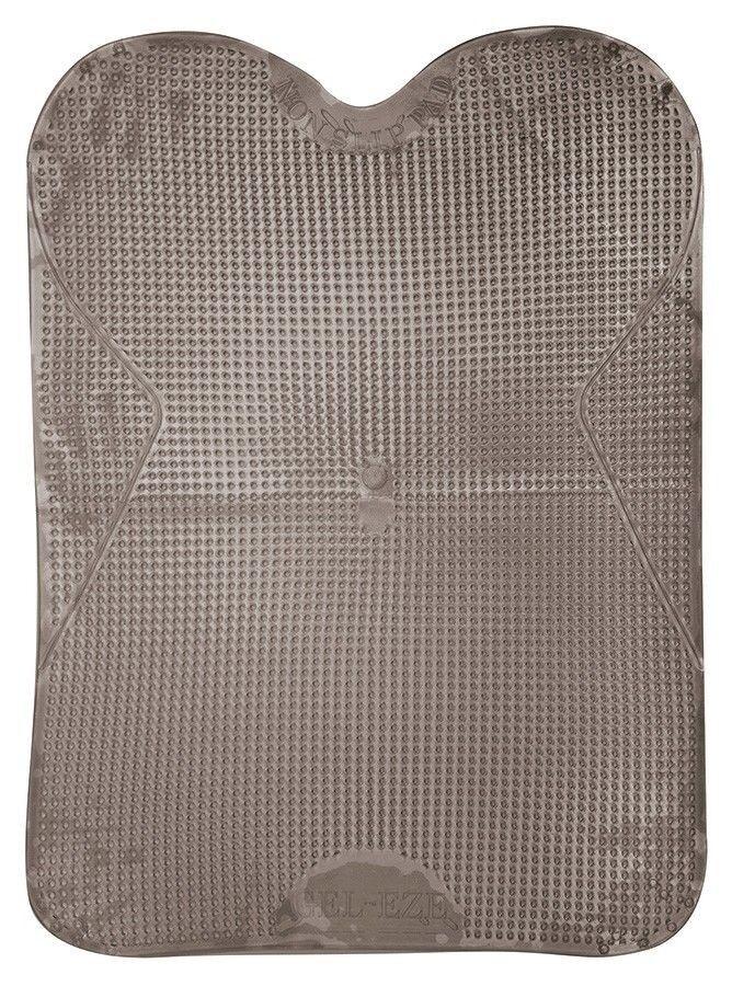 Shires Gel-Eze ohne Sattel Pad verhindert, dass Sattel Grau One Größe rutscht