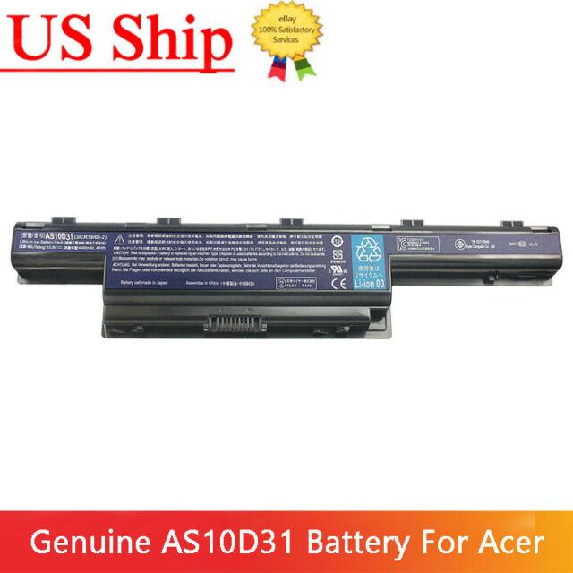 Genuine Original AS10D41 AS10D31 Battery for Acer Aspire 4551 4741 5733Z 5742 US