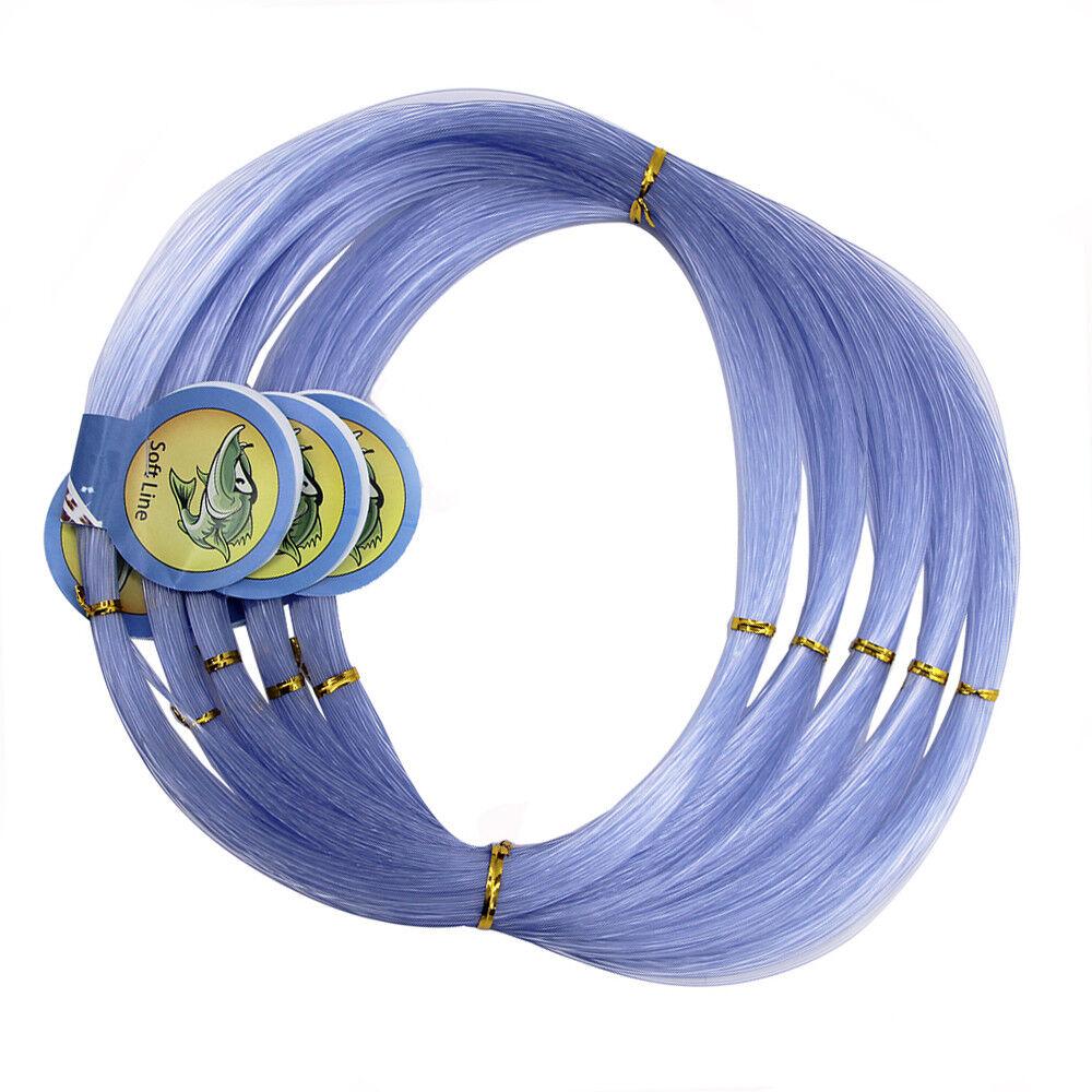 500M Nylon Mono Line Monofilament Carp Pike Trout Fishing Line 0.3-2mm 13-400LB