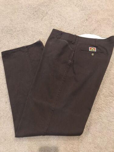 Ben Davis Original Ben's Brown Pants MADE IN USA 3