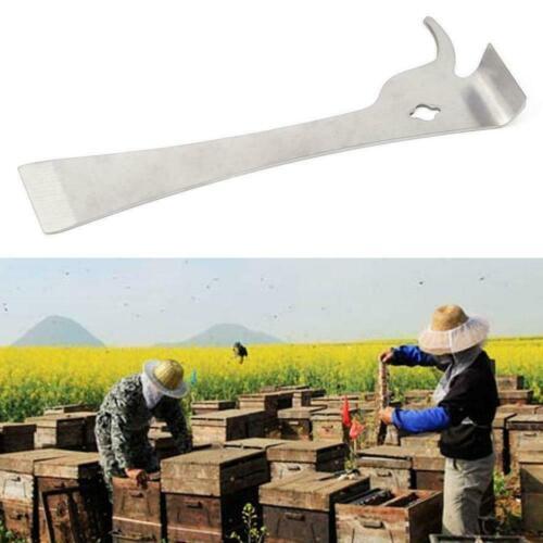 Stainless Steel Polished Bee Hive Hook Scraper Beekeeping Equipme Tools Pry SH