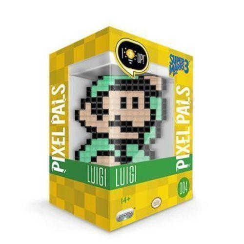 Pdp Pixel Pals Nintendo Super Mario Bros 3 Luigi Light Up Figure