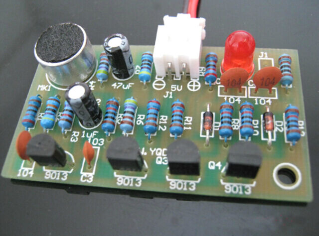 Clap Acoustic Control Switch Suite Circuit Electronic  PCB DIY Kits Better K1