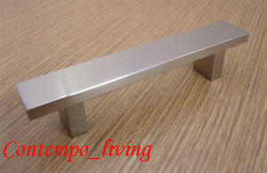 "Logique 16"" Kitchen Cabinet Pull Handle Stainless Steel Finish Usines Et Mines"