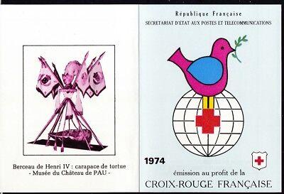 Frankreich 1974 Gestempelt Minr Europa Organisationen 1898-1899 Im Markenheft Rotes Kreuz Erfrischend Und Wohltuend FüR Die Augen