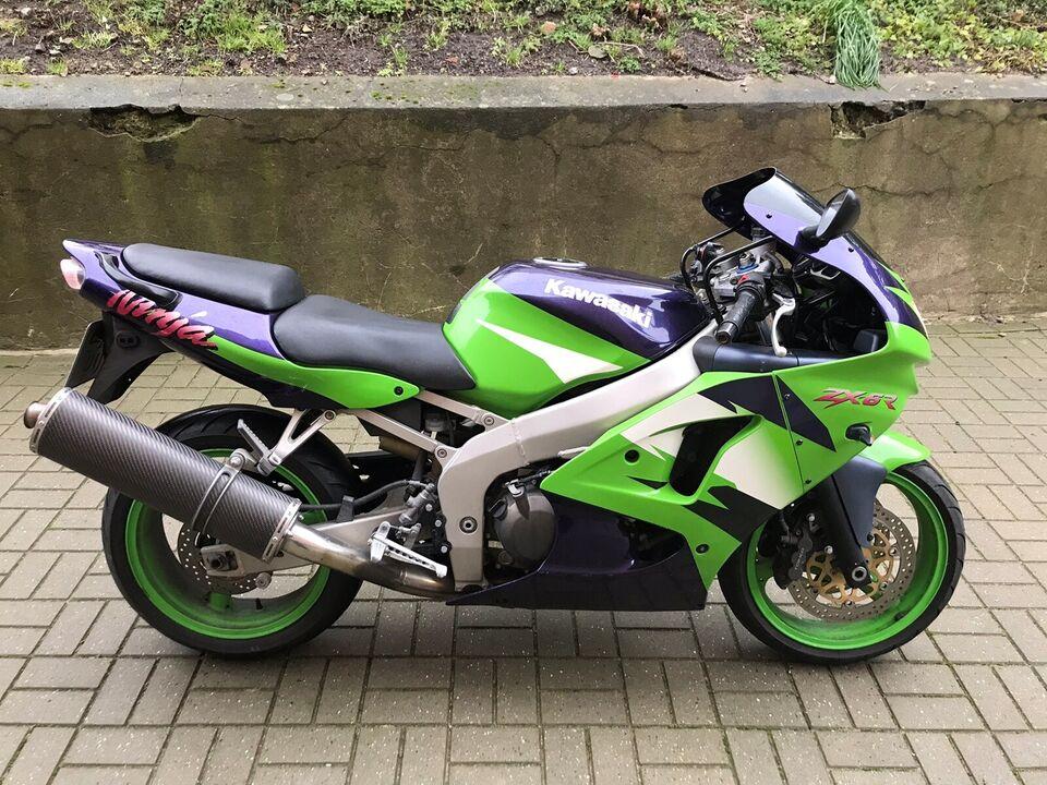 Kawasaki, Ninja Zx6r , 600 ccm