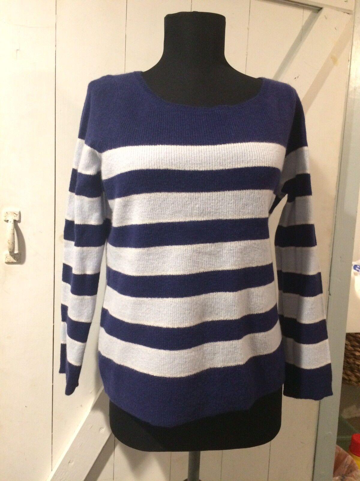 NWT Calypso Cashmire Striped Striped Striped Shorty Sweater M  285 623721