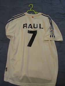 REAL-MADRID-Jersey-Home-Maglia-CASA-RAUL-vintage