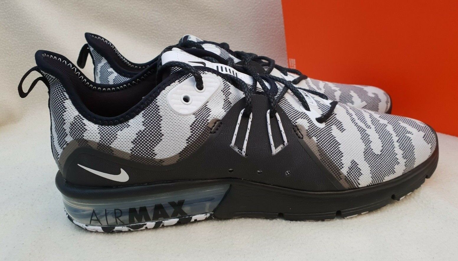 NIKE AIR MAX MAX MAX SEQUENT 3 PRM CMO TRAINERS Turnschuhe