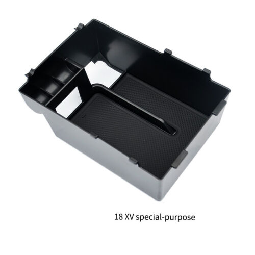 Interior Armrest Console Central Storage Box For Subaru Crosstrek XV 2018 2019