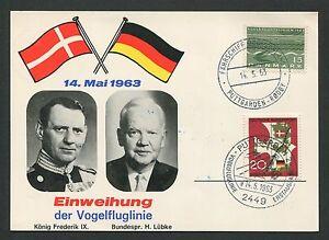 Copieux Rfa Mk 1963 399 Vol Maximum Carte Carte Maximum Card Mc Cm D652-afficher Le Titre D'origine Diversifié Dans L'Emballage