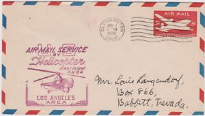 LETTRE-AERIENNE-USA-AIR-MAIL-SERVICE-HELICOPTERE-LOSANGELES-BABBIT-NEVADA-1948