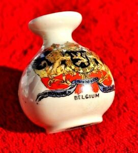 039-BELGIUM-039-ARCADIAN-CRESTED-CHINA-1914-MINIATURE-VASE