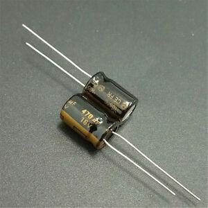 10pcs-470uF-16V-8x12mm-Panasonic-FR-Low-ESR-16V470uF-Audio-grade-Capacitor