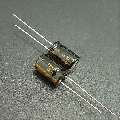 Panasonic FM 470UF 16V AUDIO Grade Electrolytic Capacitors 10pcs//20pcs//50pcs