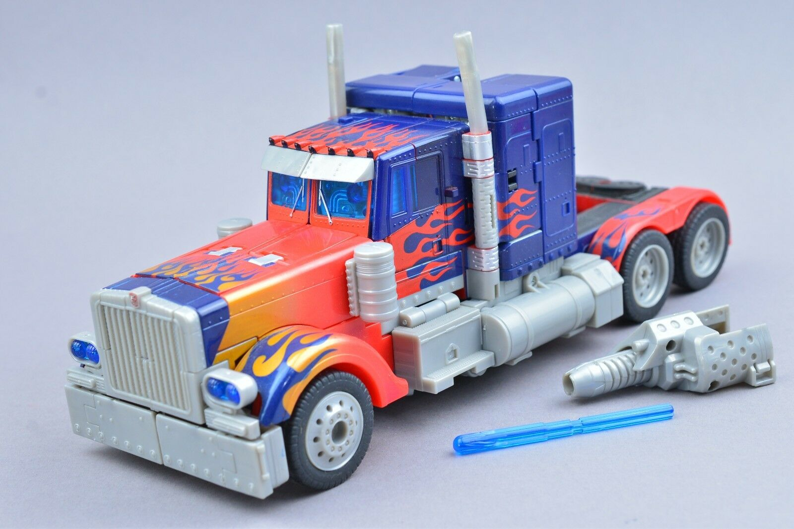 Transformers Movie Optimus Prime 100% Complete Leader Class 2007