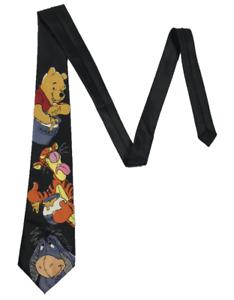 PICASSO-Men-039-s-Handmade-Tie-Winnie-the-Pooh-Tigger-amp-Eeyore-149-cm